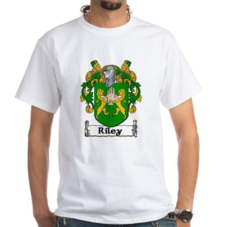 Riley Coat of Arms White T-Shirt