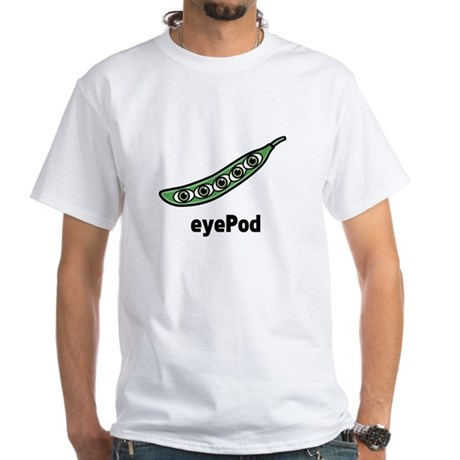 eyePod White T-Shirt