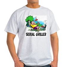 Serial Griller Funny BBQ T-Shirt
