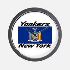 Yonkers New York Wall Clock