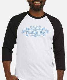 Traveling Man Baseball Jersey