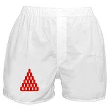 Faux Red Gem Boxer Shorts
