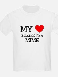 My Heart Belongs To A MIME T-Shirt