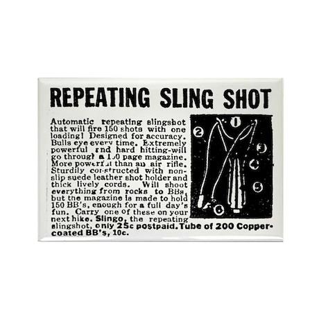 SLING SHOT Rectangle Magnet