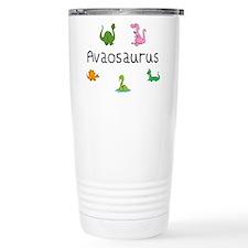 Avaosaurus Travel Mug