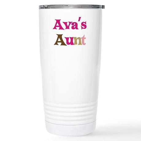 Ava's Aunt Stainless Steel Travel Mug