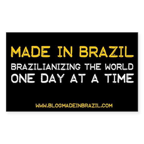 Blog Made In Brazil Sticker