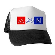 RWB Mountain Biking Trucker Hat