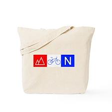 RWB Mountain Biking Tote Bag