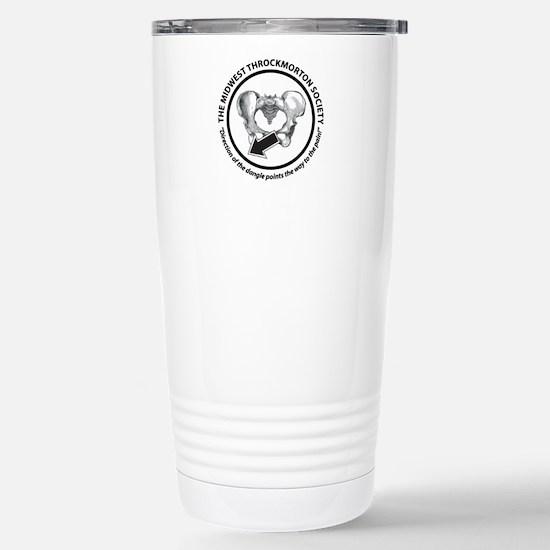 Throckmorton Stainless Steel Travel Mug