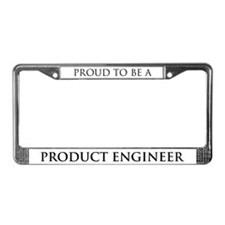 Proud Product Engineer License Plate Frame