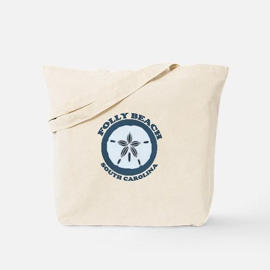Folly Beach SC Tote Bag