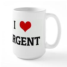 I Love ARGENT Mug