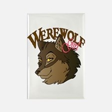 Werewolf Girl Rectangle Magnet