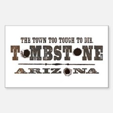 Tombstone Rectangle Decal