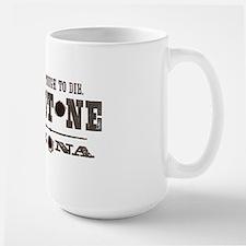 Tombstone Large Mug