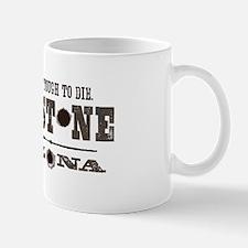 Tombstone Small Small Mug