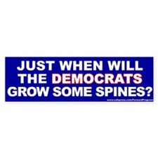 Just When Will The Democrats Grow Some Spines?