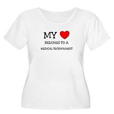 My Heart Belongs To A MEDICAL TECHNOLOGIST T-Shirt