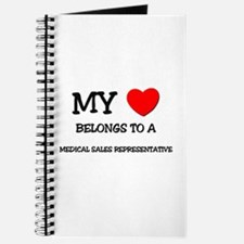 My Heart Belongs To A MEDICAL SALES REPRESENTATIVE