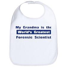 Grandma is Greatest Forensic Bib
