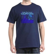 SUNNY CALIFORNIA - Navy T-Shirt