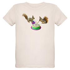 Squirrels Birthday T-Shirt