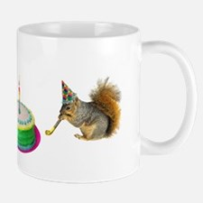 Squirrels Birthday Mug