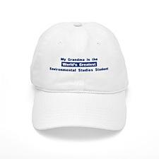 Grandma is Greatest Environme Baseball Cap