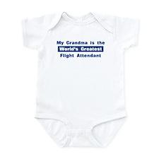 Grandma is Greatest Flight At Infant Bodysuit