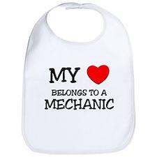 My Heart Belongs To A MECHANIC Bib