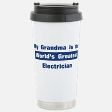 Grandma is Greatest Electrici Travel Mug