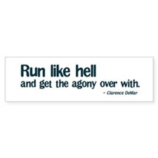 Run Like Hell Bumper Bumper Sticker