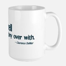 Run Like Hell Large Mug