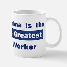 Grandma is Greatest Farm Work Mug