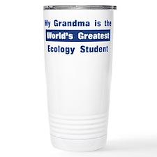 Grandma is Greatest Ecology S Travel Mug