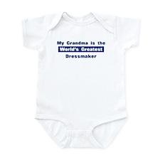 Grandma is Greatest Dressmake Infant Bodysuit