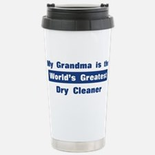 Grandma is Greatest Dry Clean Stainless Steel Trav