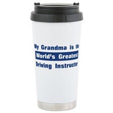 Grandma is Greatest Driving I Travel Mug