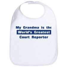 Grandma is Greatest Court Rep Bib