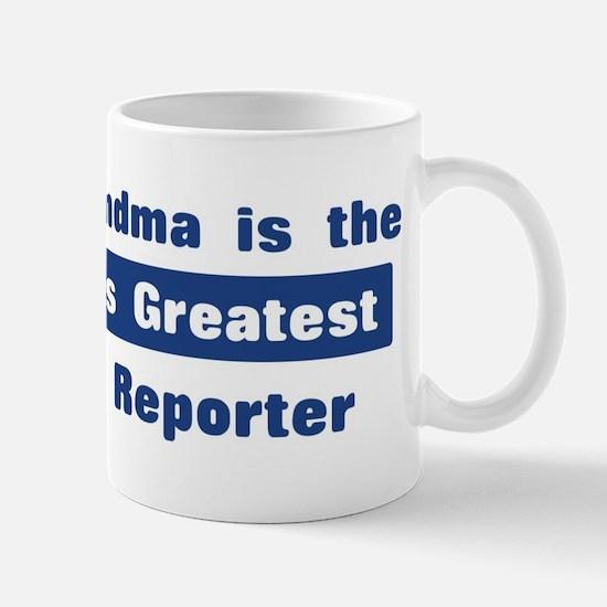 Grandma is Greatest Court Rep Mug