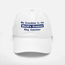 Grandma is Greatest Dog Catch Baseball Baseball Cap