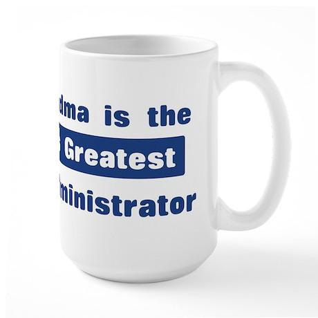 Grandma is Greatest Court Adm Large Mug