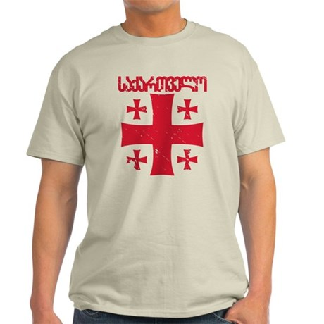 Georgia Distressed Light T-Shirt