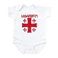 Georgia Distressed Infant Bodysuit