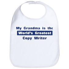 Grandma is Greatest Copy Writ Bib