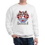 MacLoughlin Coat of Arms Sweatshirt