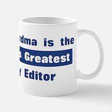 Grandma is Greatest Copy Edit Mug