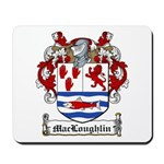 MacLoughlin Coat of Arms Mousepad