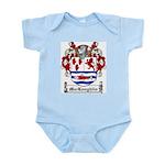 MacLoughlin Coat of Arms Infant Creeper